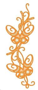 Tonic Studios- Sew Pretty Butterfly Column Die Set 4378e