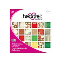 Heartfelt Creations Heartfelt Paper- Festive Poinsettia