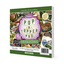 Hunkydory Crafts Pop-A-Topper Pad - A Life of Leisure