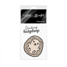 Hunkydory - For The Love of Stamps - A8 Stamp- Hedgehugs