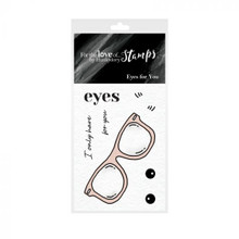 Hunkydory - For The Love of Stamps - A8 Stamp- Eyes for You