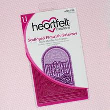 Heartfelt Creations- Scalloped Flourish Gateway Die