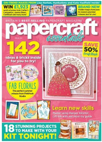Papercraft Essentials Magazine Issue 202 - with exclusive Sweater Weather Foiled Collection
