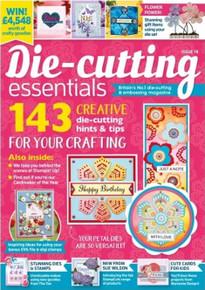 Die Cutting Essentials Magazine Issue 78- Pretty Layering Petals Die-set