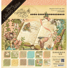 Graphic 45 4501099 Once Upon a Springtime 12' x 12' Papercrafting Set