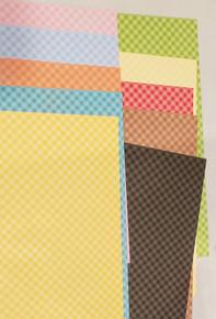 Doodlebug Designs- Petite Prints Double-Sided Cardstock- Gingham 10 color pack