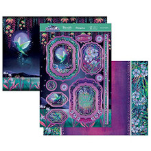 Hunkydory Crafts Moonlit Moments a Fabulous Finishes Luxury Topper Set- Tropical Delights MOON903