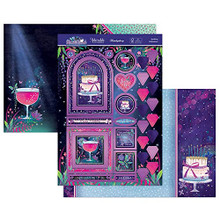 Hunkydory Crafts Moonlit Moments a Fabulous Finishes Luxury Topper Set- Sparkling Celebrations MOON902