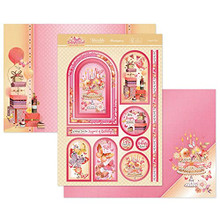 Hunkydory Crafts Butterfly Blush A Fabulous Finishes Luxury Topper Set- A Special Day BFBLUSH901