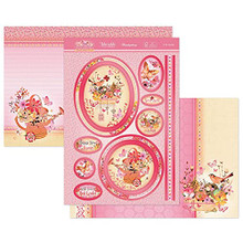 Hunkydory Crafts Butterfly Blush A Fabulous Finishes Luxury Topper Set- In the Garden BFBLUSH903