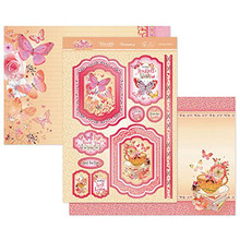 Hunkydory Crafts Butterfly Blush A Fabulous Finishes Luxury Topper Set- Flutterbye Wishes BFBLUSH902