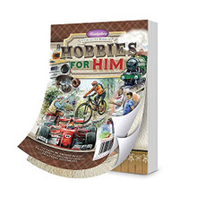 Hunkydory Crafts The Little Book of Hobbies for Him - LBK269