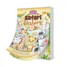 Hunkydory Crafts The A6 Little Book of Safari Babies