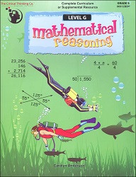 Mathematical Reasoning G
