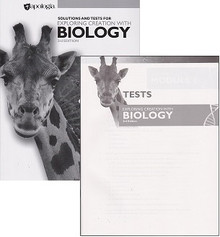 Apologia Exploring Creation with Biology Solution and Test Manual *3rd Edition*