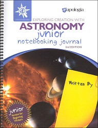 Apologia Exploring Creation with Astronomy JR Notebooking Journal 2ED