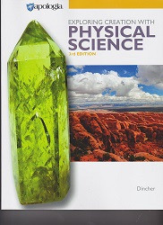 Apologia Exploring Creation with Physical Science Textbook