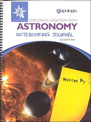 Apologia Elementary  Exploring Creation with Astronomy Notebooking Journal 2 ED