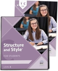 Structure and Style for Students: Year 1 Level C Binder/Packet
