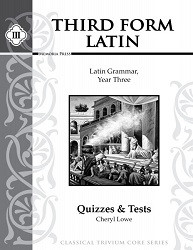 Third Form Latin Quizzes and Tests