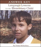 Language Lessons for the Elementary Child 2 Key