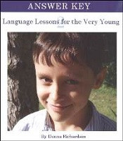 Language Lessons for the Very Young 2 Key