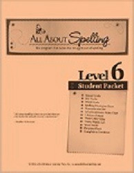 All About Spelling Level 6 Student Material Packet