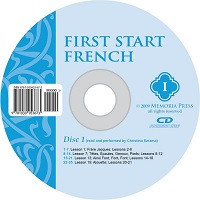 First Start French Level 1 Pronunciation CD