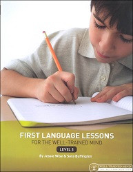 First Language Lessons for the Well-Trained Mind 3 Teacher
