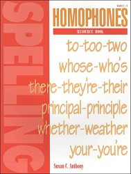 Spelling Plus Homophones