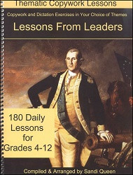Copywork - Lessons From Leaders