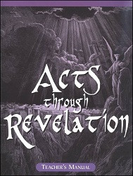 Acts through Revelation Teacher