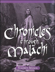 Chronicles through Malachi and Job Teacher