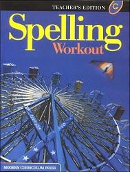 Spelling Workout G Teacher - 2002