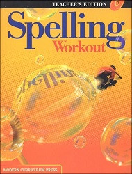 Spelling Workout D Teacher - 2002