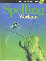 Spelling Workout C Teacher - 2002