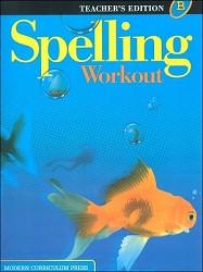 Spelling Workout B Teacher - 2002