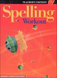 Spelling Workout A Teacher - 2002