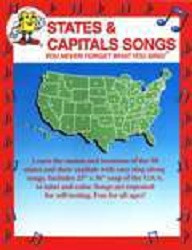 States and Capitals Songs w/CD