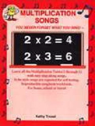 Multiplication Songs w/CD