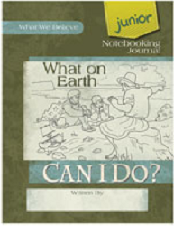 What on Earth Can I Do Junior Notebooking Journal