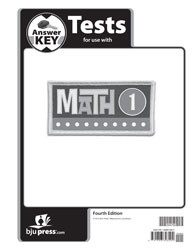 Math 1 Test Key 4th Edition