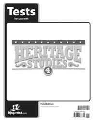 Heritage Studies 4 tests 3rd Edition