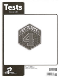 Science 4 Tests 4th Edition