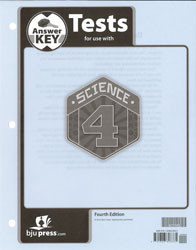 Science 4 Test Key  4th Edition