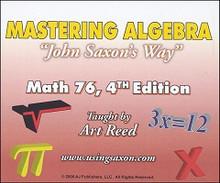 "Saxon Math 7/6 Mastering Algebra ""John Saxon's Way""  DVD"