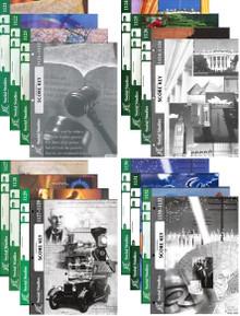 School of Tomorrow / ACE Social Studies Grade 11 #1121 - 1132 US History with Keys (4th Edition)