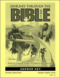 Journey Through The Bible Book 1 Answer Key
