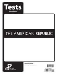 American Republic Tests 4th Edition