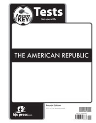 American Republic Test Key 4th Edition